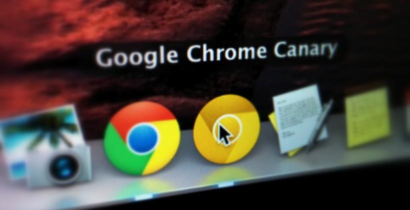 Chrome Canary 2