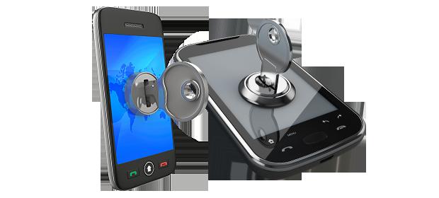 Encrypted Smartphone.