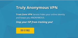 trust zone free vpn
